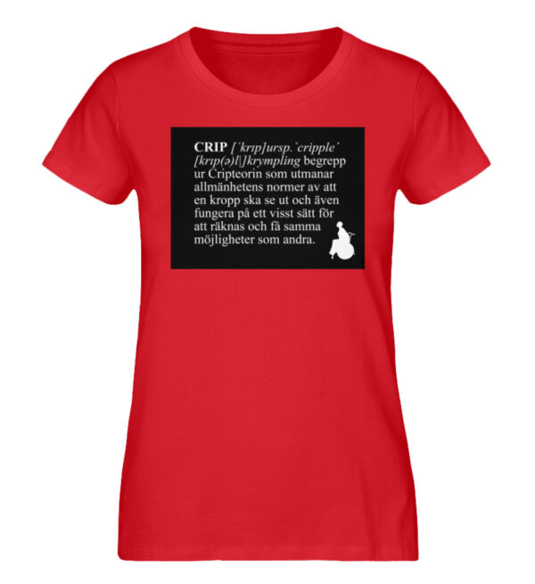 CRIP - The word - Ladies Premium Organic Shirt-6882