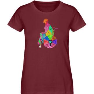 Zentangle - Ladies Premium Organic Shirt-6883