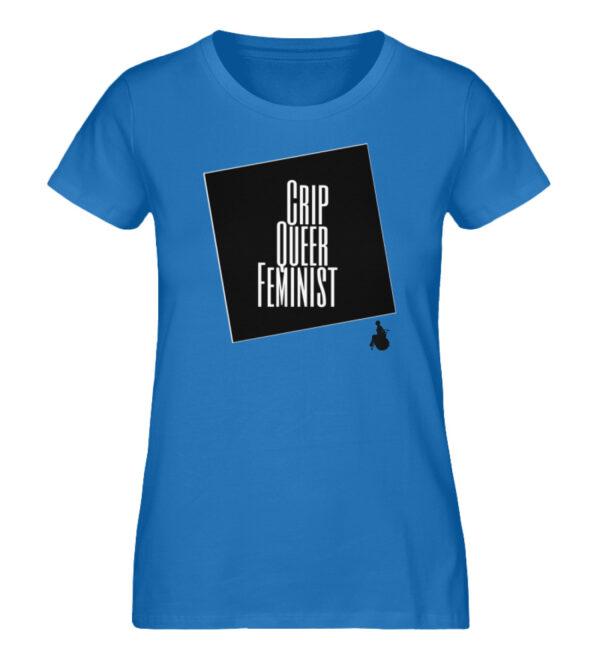 Crrip Queer Feminist Svart - Ladies Premium Organic Shirt-6886