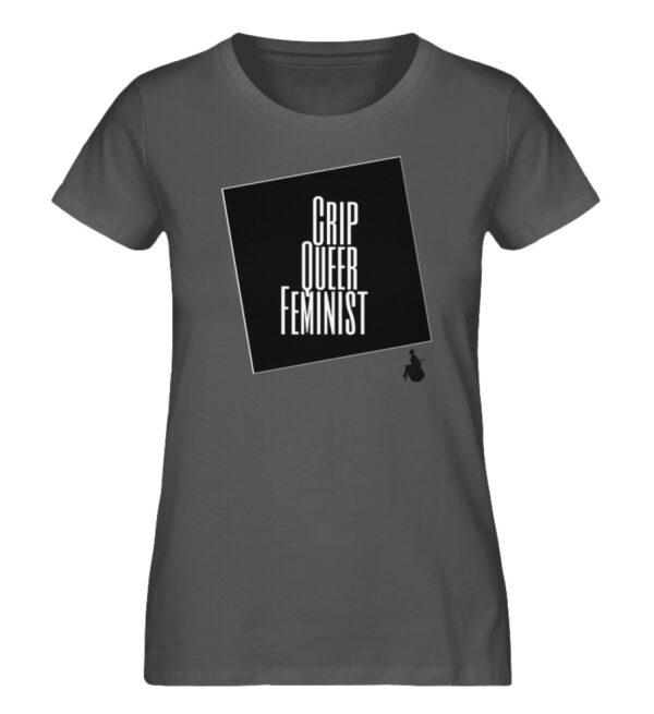 Crrip Queer Feminist Svart - Ladies Premium Organic Shirt-6896