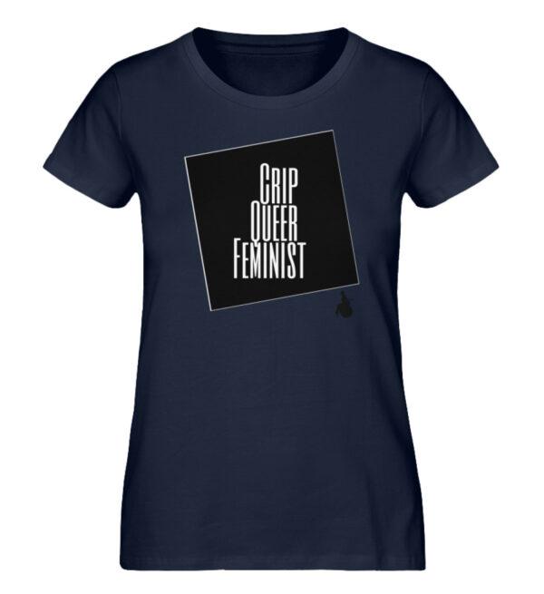 Crrip Queer Feminist Svart - Ladies Premium Organic Shirt-6887