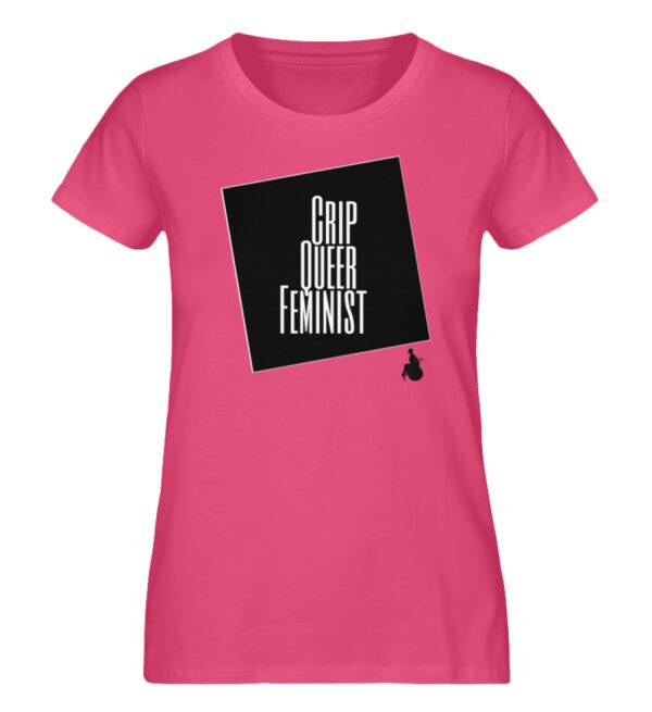 Crrip Queer Feminist Svart - Ladies Premium Organic Shirt-6930
