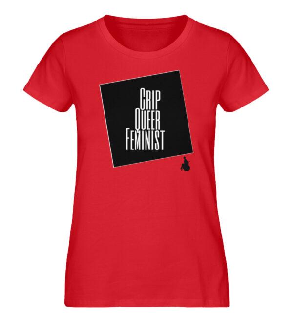 Crrip Queer Feminist Svart - Ladies Premium Organic Shirt-6882