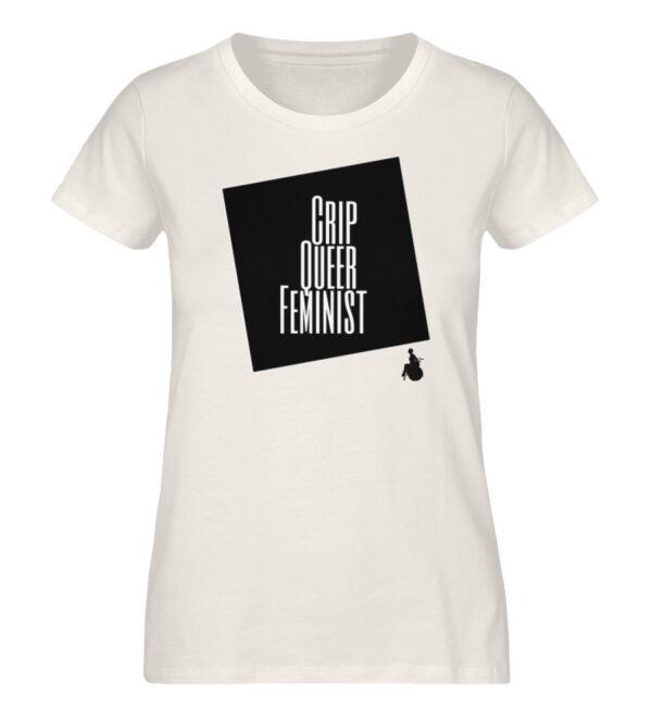 Crrip Queer Feminist Svart - Ladies Premium Organic Shirt-6881