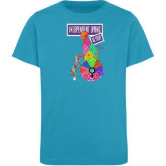 Independent Living as folk - Kinder Organic T-Shirt-6885