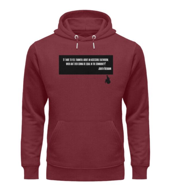 Judith said it! - hoodie - Unisex Organic Hoodie-6883