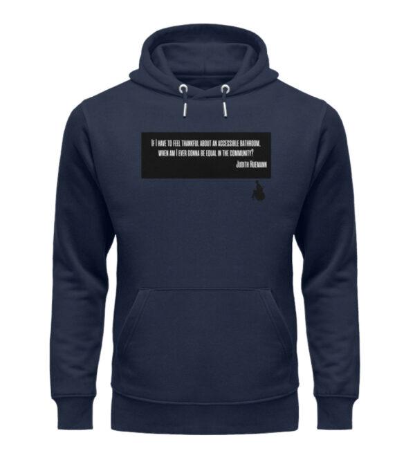 Judith said it! - hoodie - Unisex Organic Hoodie-6887