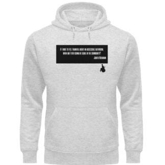 Judith said it! - hoodie - Unisex Organic Hoodie-6892