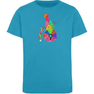 Zentangle - Kinder Organic T-Shirt-6885