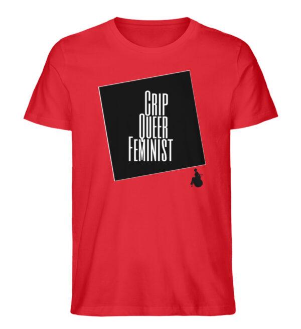 Crrip Queer Feminist Svart - Men Premium Organic Shirt-6882