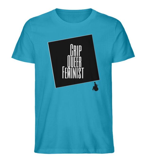 Crrip Queer Feminist Svart - Men Premium Organic Shirt-6885