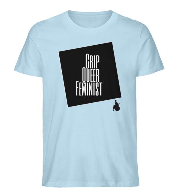 Crrip Queer Feminist Svart - Men Premium Organic Shirt-6888