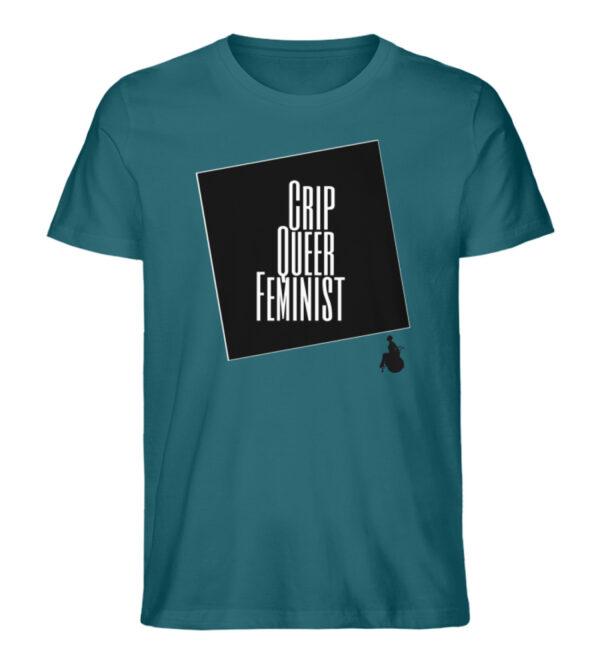Crrip Queer Feminist Svart - Men Premium Organic Shirt-6889