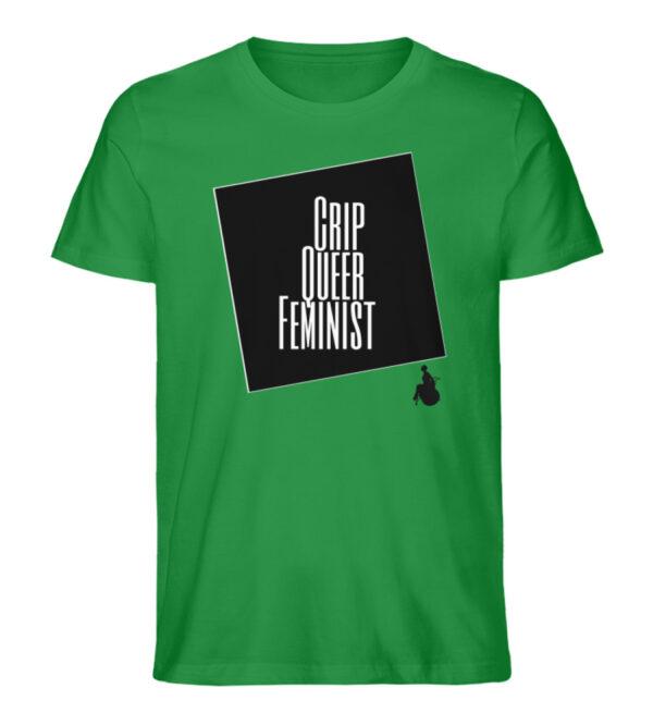 Crrip Queer Feminist Svart - Men Premium Organic Shirt-6890