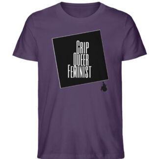 Crrip Queer Feminist Svart - Men Premium Organic Shirt-6884