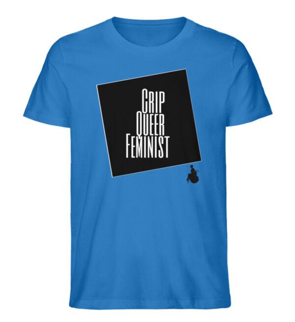 Crrip Queer Feminist Svart - Men Premium Organic Shirt-6886