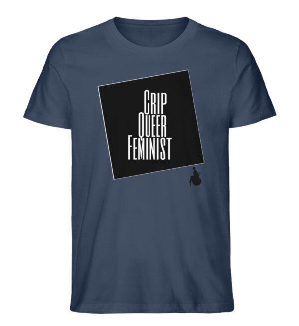 Crrip Queer Feminist Svart - Men Premium Organic Shirt-7058