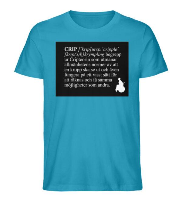 CRIP - The word - Men Premium Organic Shirt-6885