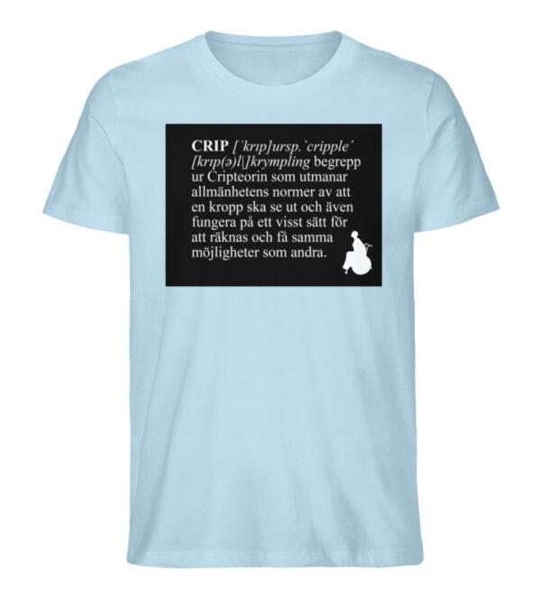 CRIP - The word - Men Premium Organic Shirt-6888