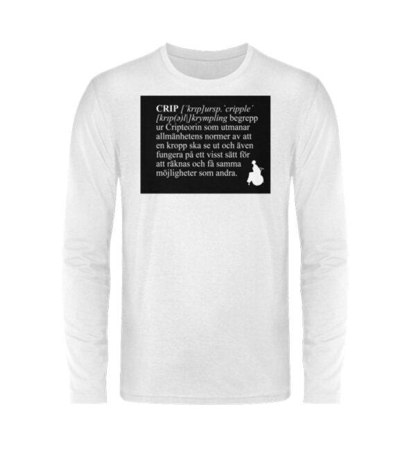 CRIP - The word - Unisex Long Sleeve T-Shirt-3