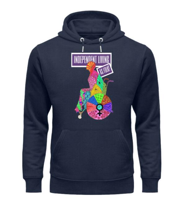 Independent Living hoodie - Unisex Organic Hoodie-6887