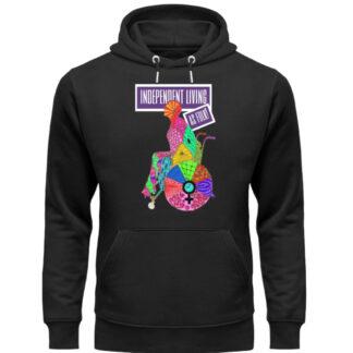 Independent Living hoodie - Unisex Organic Hoodie-16