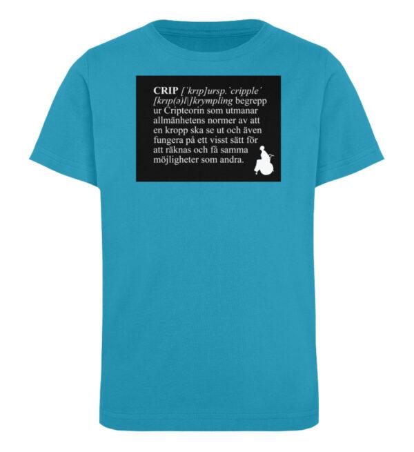 CRIP - The word - Kinder Organic T-Shirt-6885
