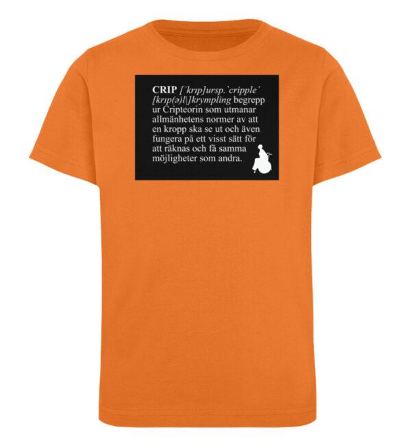 CRIP - The word - Kinder Organic T-Shirt-6902