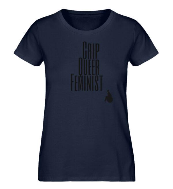 Crip Queer Feminist - Ladies Premium Organic Shirt-6887