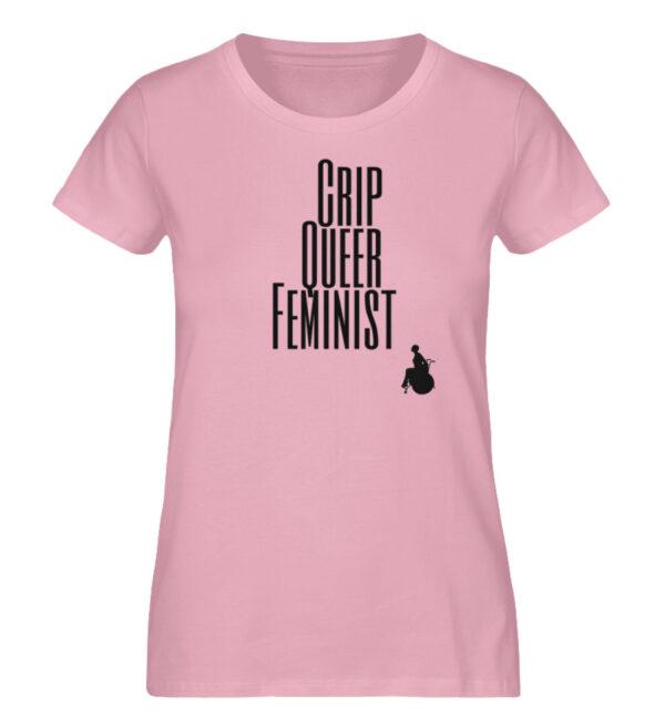 Crip Queer Feminist - Ladies Premium Organic Shirt-6903